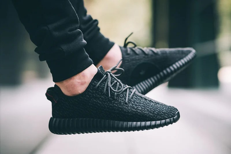 adidas Yeezy Boost 350 Pirate Black for sale online restock