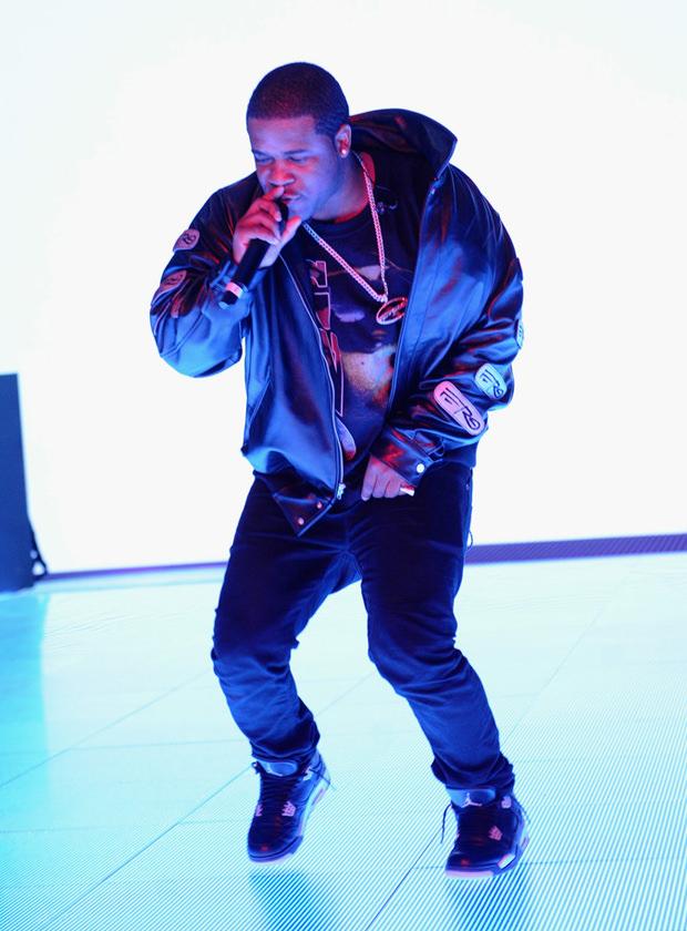 "A$AP Ferg in the Air Jordan 4 ""Oreo"""