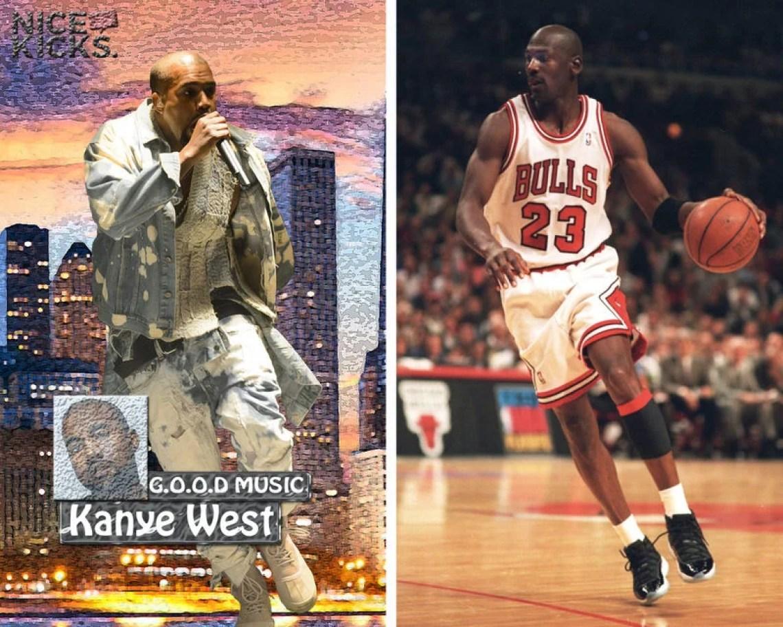 Kanye West Michael Jordan
