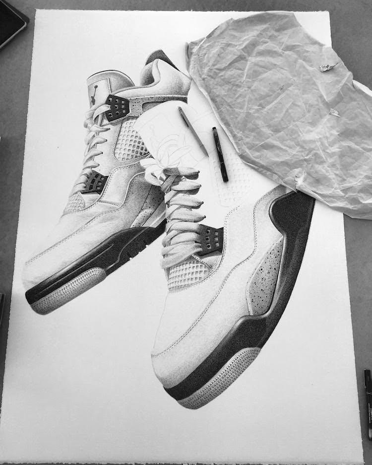 Jordan Shoe Art