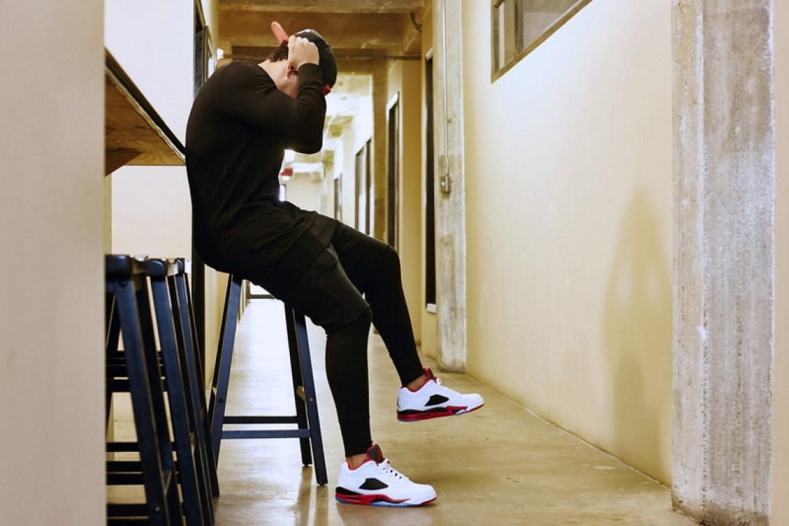 9d0e76b0e41d99 On-Foot Look    Air Jordan 5 Low