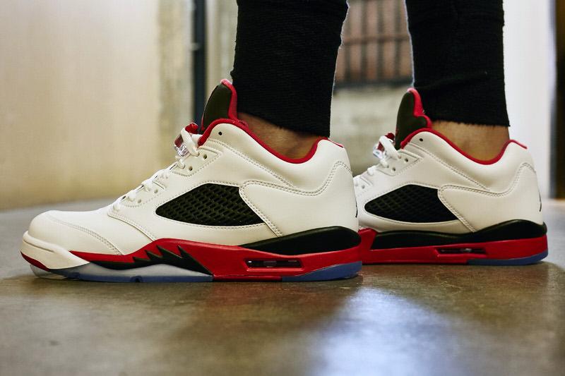 the latest 2bd2c 11c42 On-Foot Look // Air Jordan 5 Low