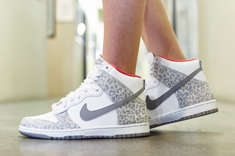 727588f3b698 usa on foot look tbt edition nike dunk high skinny leopard a8861 6618c