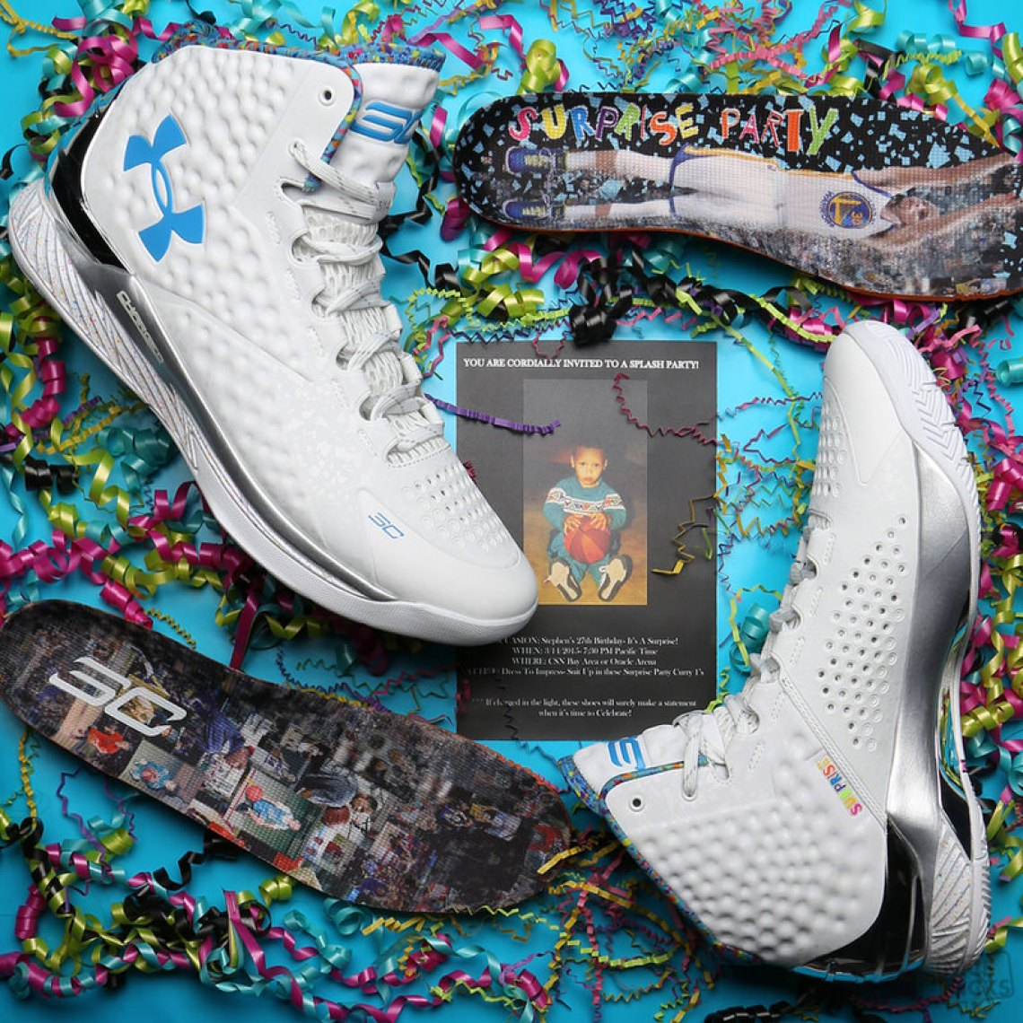 SC Curry One Splash Party Birthday