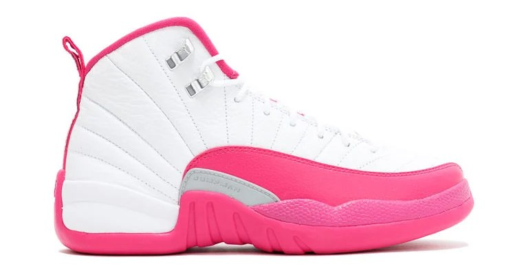 "Air Jordan 12 ""Vivid Pink"" For Sale"