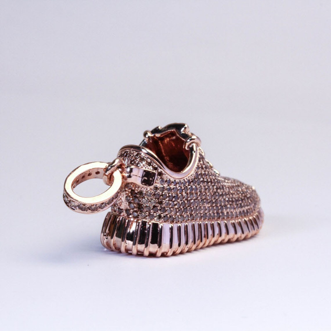 d1db9a815250 Ben Baller Rose Gold Adidas Yeezy Boost 350 Pendant Jewelry