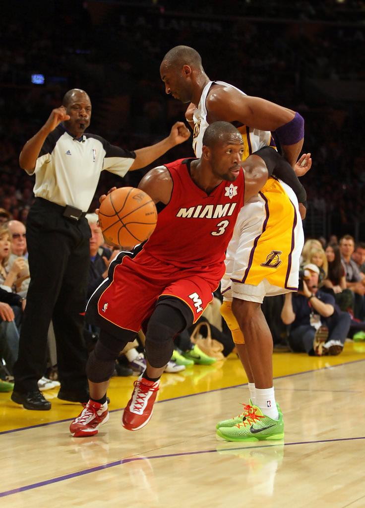 Kobe Bryant Dwyane Wade