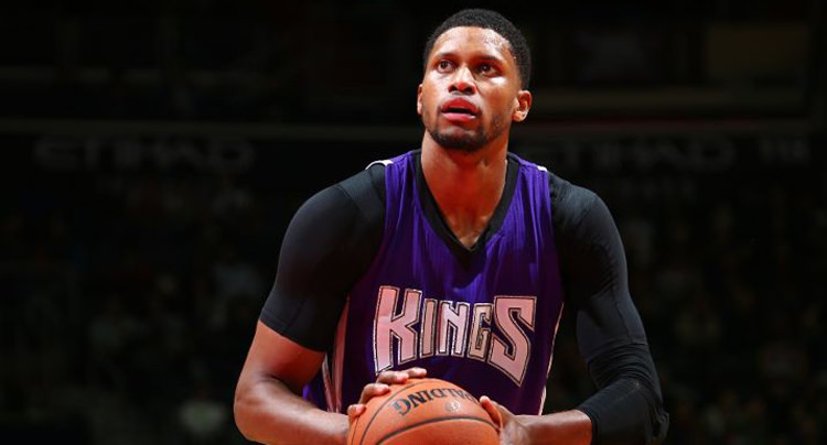 "competitive price 9a341 d5a7c Rudy Gay Wears ""Wing It"" Air Jordan 2   Kicks On Court"