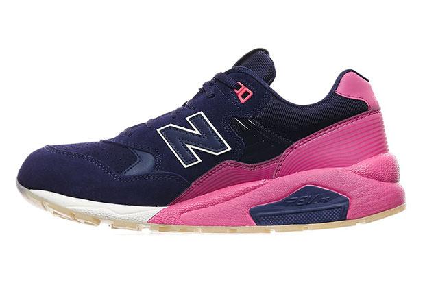separation shoes 1c331 aad67 New Balance 580 Navy/Pink // Coming Soon | Nice Kicks