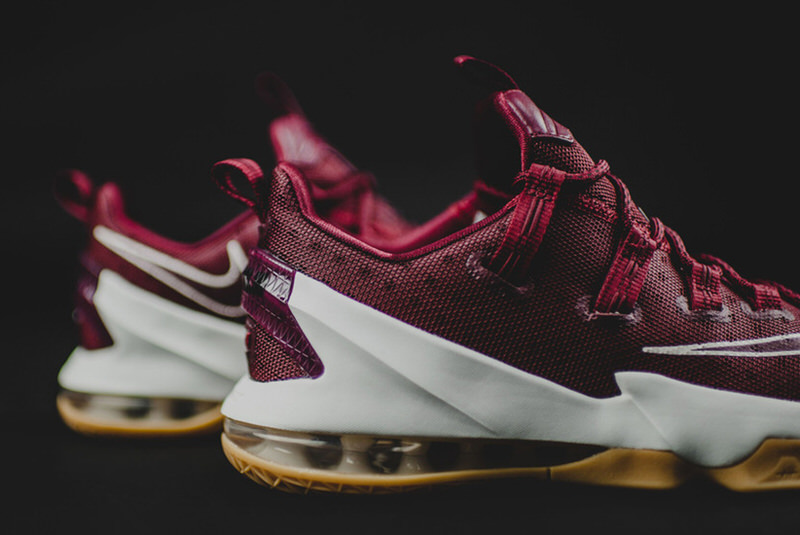 nike lebron 13 low team red