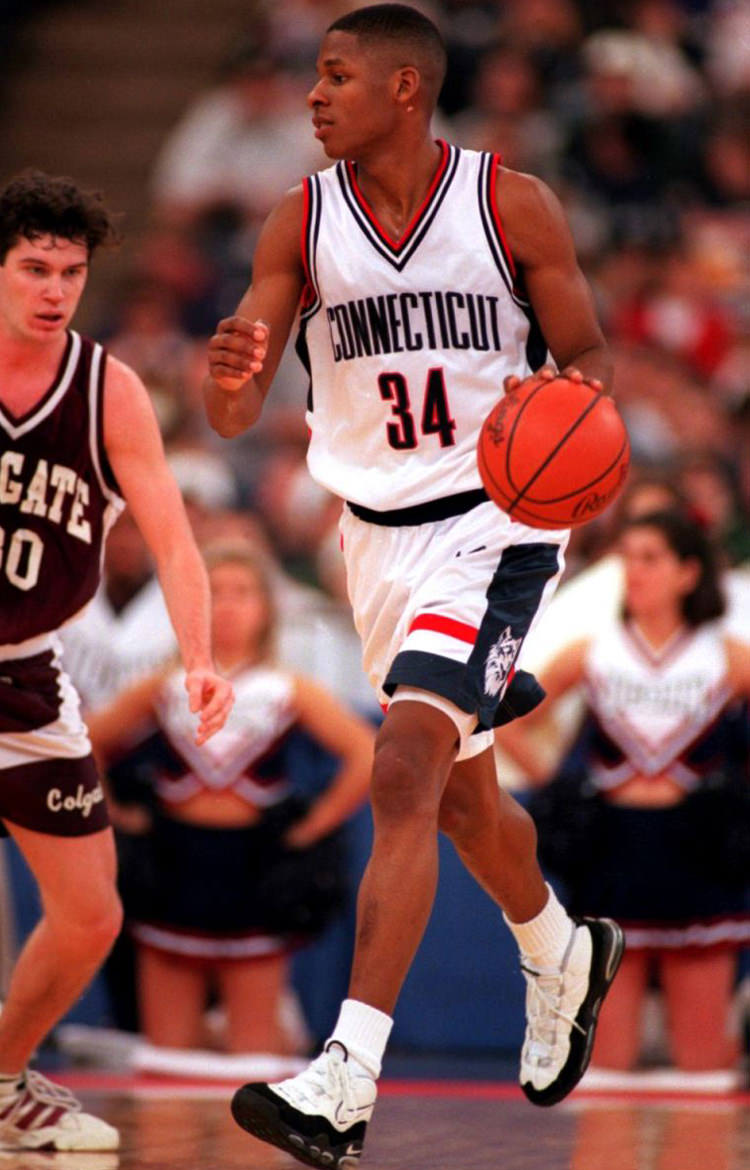 Ray Allen in the Nike Air Max Uptempo 96
