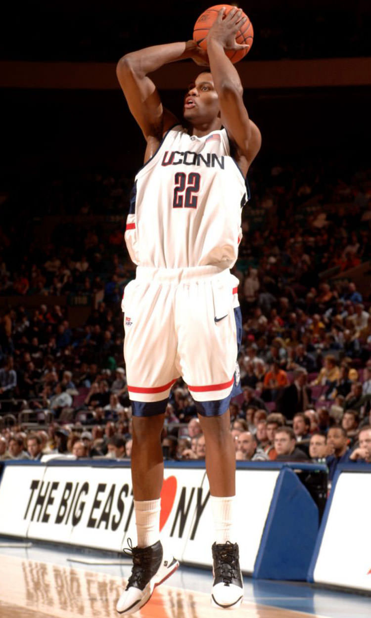 Rudy Gay in the Nike Zoom LeBron III
