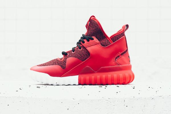 adidas tubulare rosso / nero / x / disponibile belle scarpe