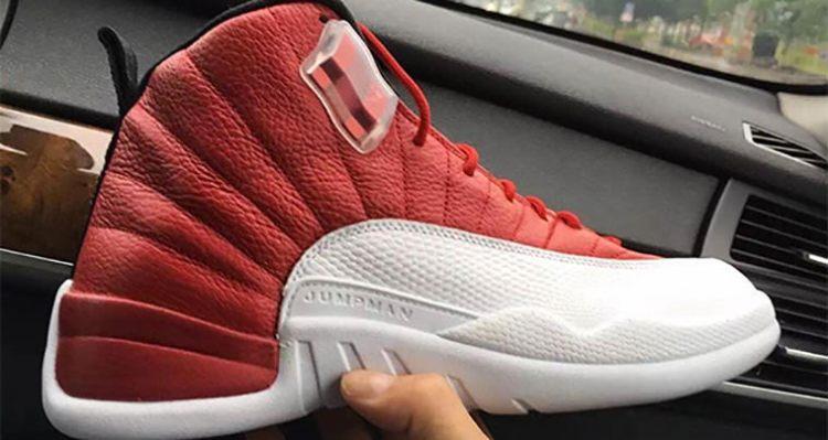 Air Jordan 12 Gym Red White