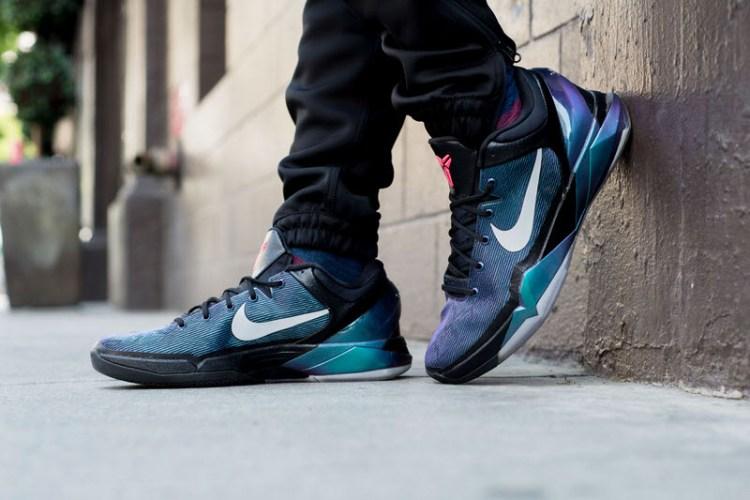 "Nike Zoom Kobe VII ""Invisibility Cloak"" On-Foot Look"