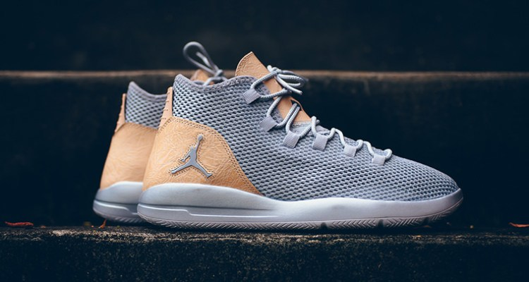 Jordan Reveal Wolf Grey Vachetta Tan