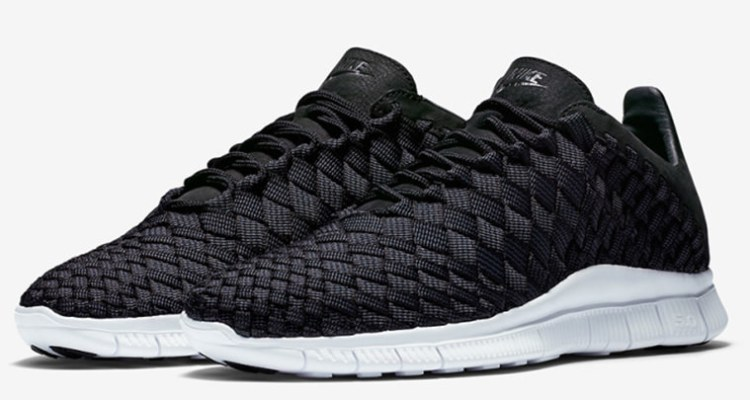 purchase cheap 6e1ff c923b Nike Free Inneva Woven Black Summit White
