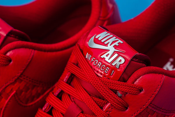 reputable site 8def9 23474 ... Nike Air Force 1 Low Woven Gym Red