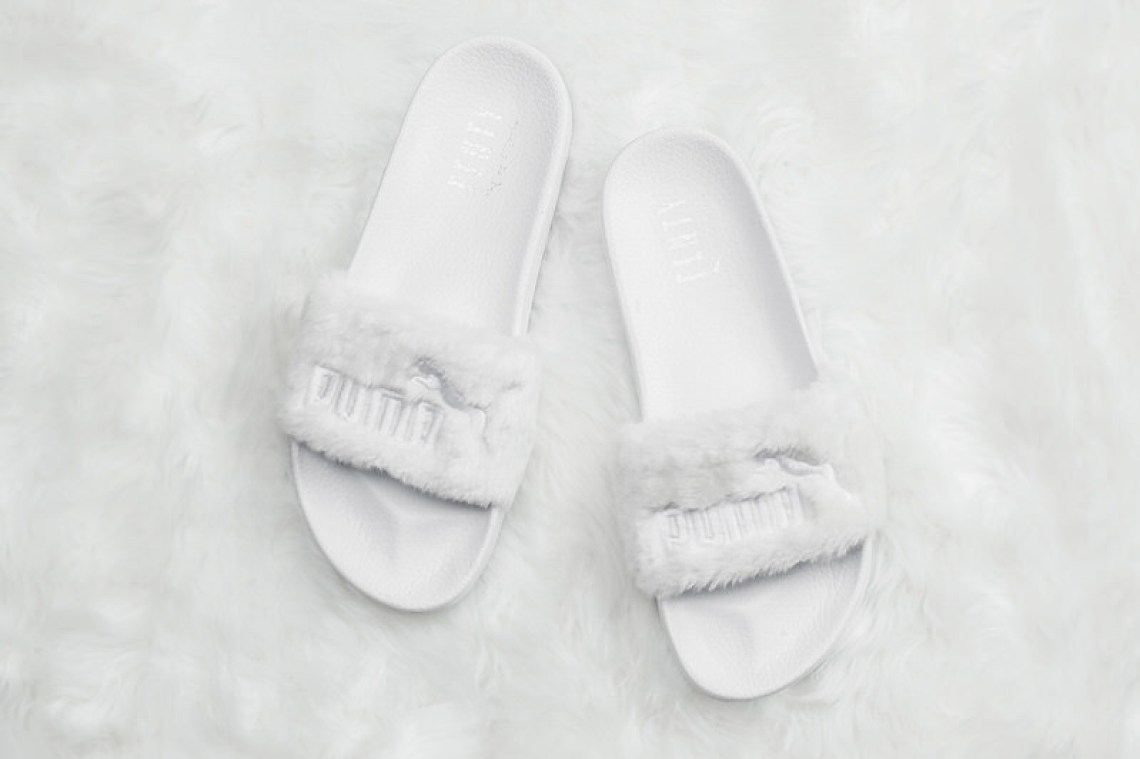 The Rihanna x PUMA Fenty Fur Slides Sold Out Insanely Quick  4ae9f9e81