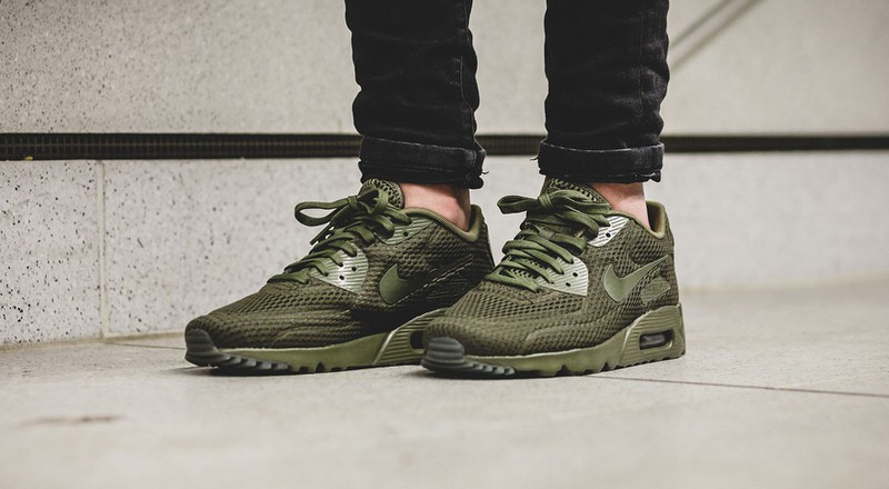 "Nike Air Max 90 Ultra BR ""Medium Olive"" 