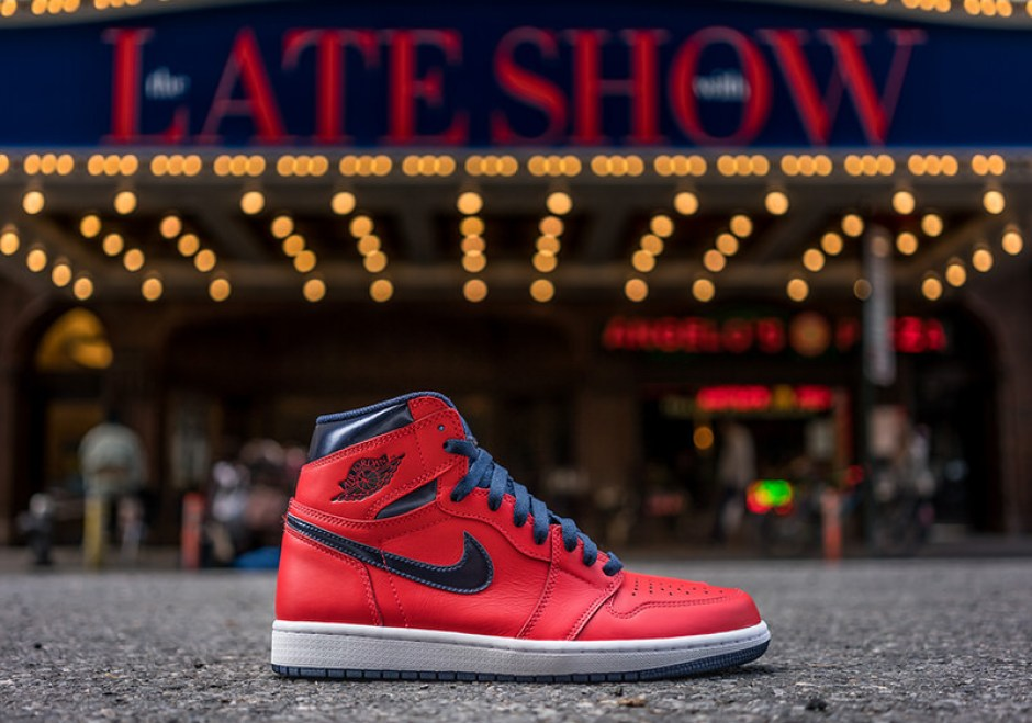 14ac6b8cb990f4 Air Jordan 1 David Letterman Air Jordan 1 David Letterman