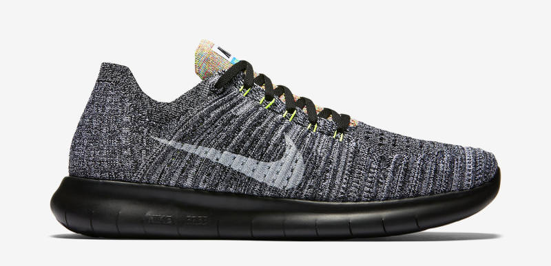 finest selection b5661 74bab Nike Free RN Flyknit Multicolor