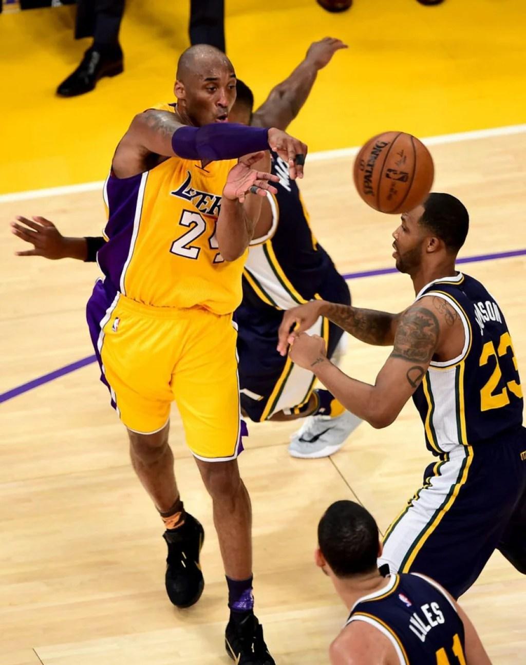 """Kobe Bryant in the Nike Kobe 11 """"Fade to Black"""""""
