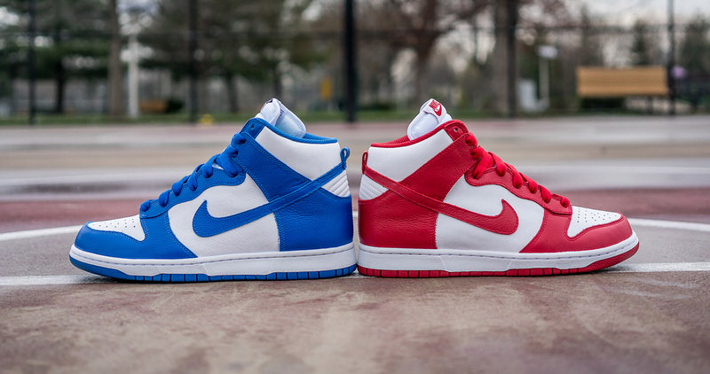 "low priced 721a4 b5a88 Nike Dunk High QS ""Be True"" Pack"