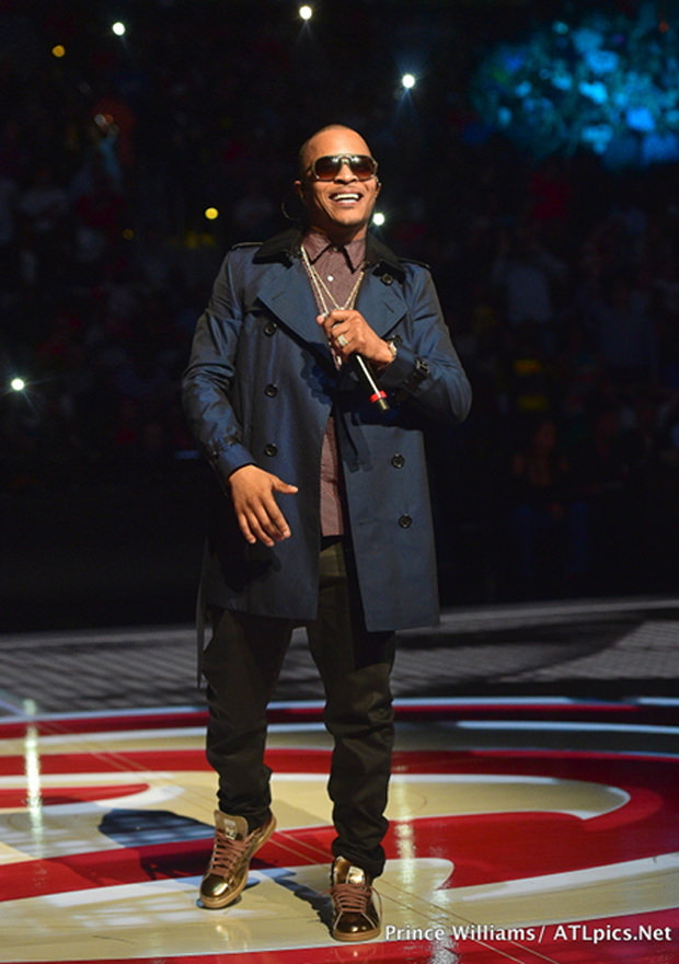 TI in the Adidas x Raf Simons Stan Smith Sneakers