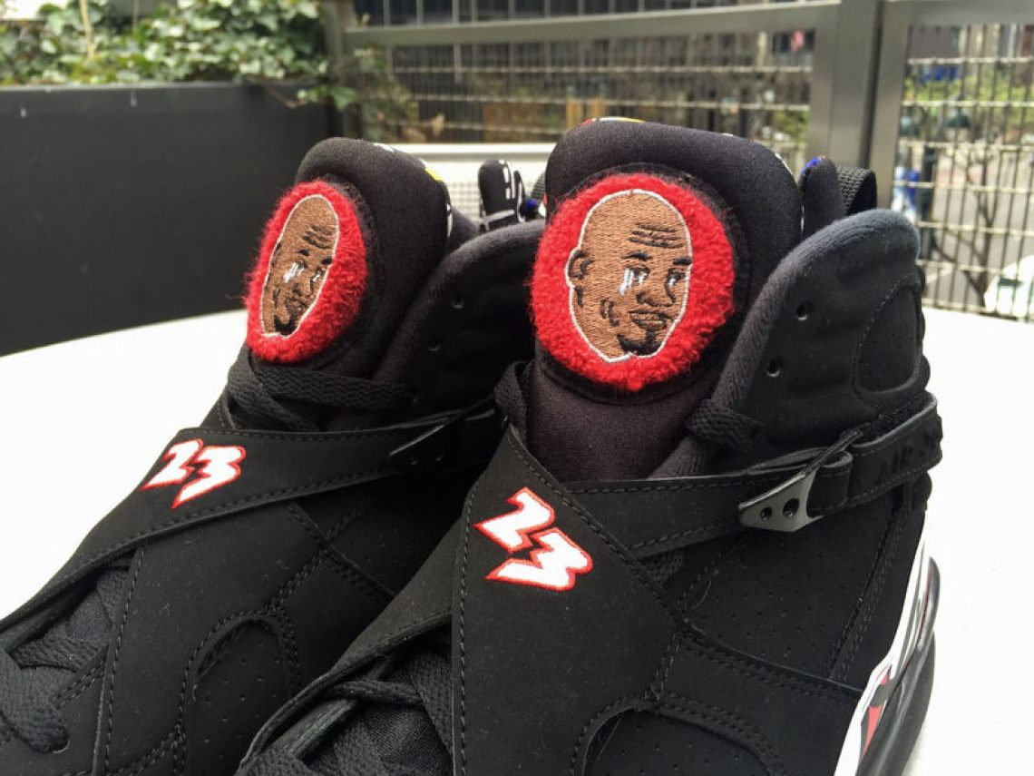 """Crying MJ"" meme custom Air Jordans"