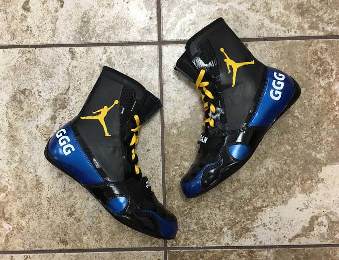 air jordan boxing boots