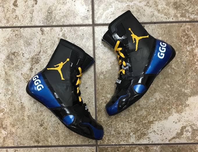 857c92c1105 Jordan Boxing Boots by Mache Customs for GGG | Nice Kicks