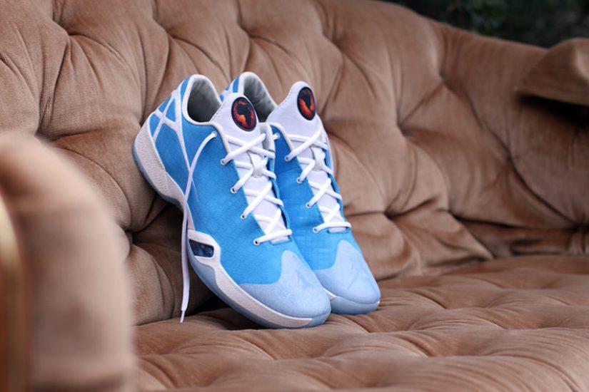 "Air Jordan XXX Low ""UNC"" Conversion by Dank Customs"
