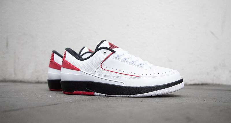 "finest selection c4a73 8388e Air Jordan 2 Low ""Chicago"" Lands at Retailers This Weekend"