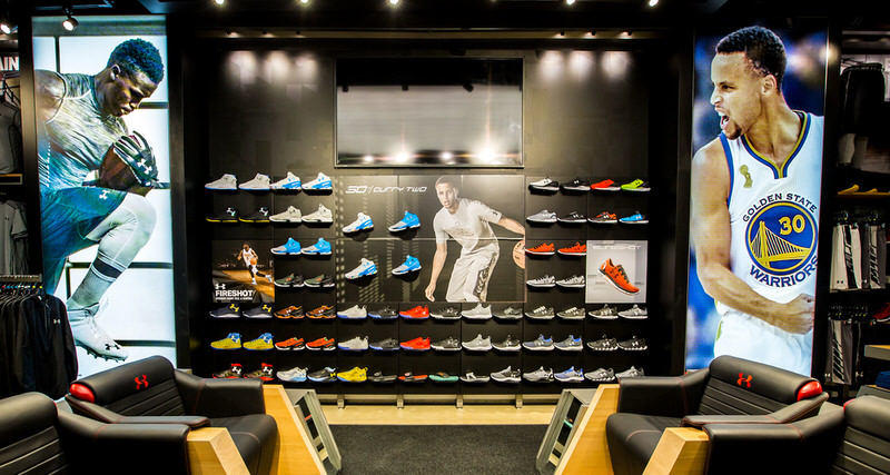 2479a7deb26 Under Armour and Champs Sports Bring Sneakerheads Back to the Mall with The  ARMOURY