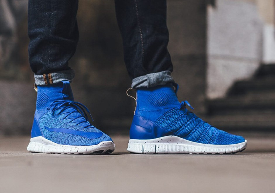 newest 5a284 b408e Nike Free Flyknit Mercurial Superfly Game Royal ...