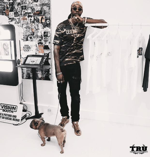 2 Chainz in the Adidas x Raf Simons Stan Smith Sneakers
