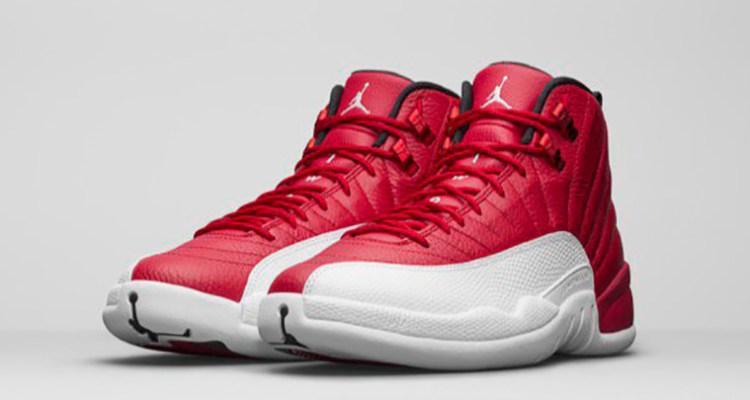 Air Jordan 12 Red White