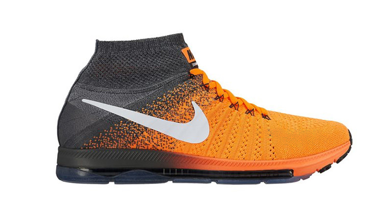 c7637c8829e france nike air zoom all out flyknit anthracite orange 883a7 c30fb