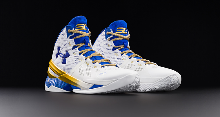 Under Armour Curry Two Gold Rings