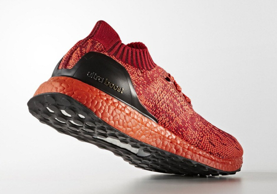 adidas Ultra Boost Uncaged Red Black