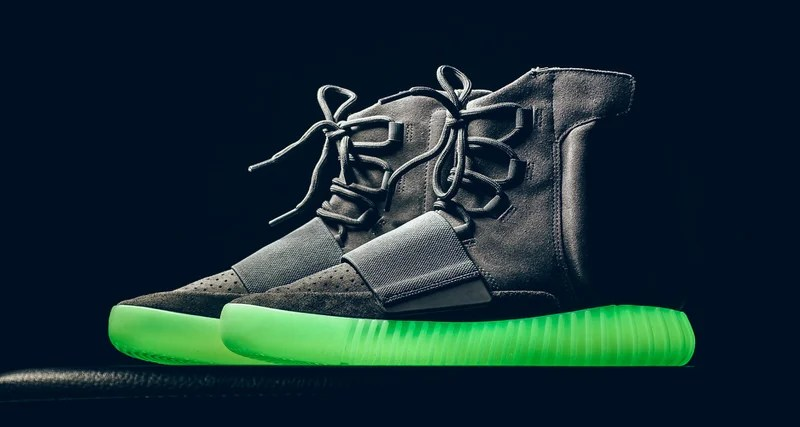 This Weekend's adidas Yeezy Boost 750 Really Does Glow in