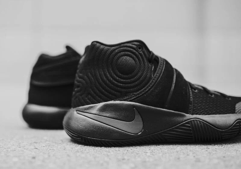 new arrival 277d7 e7d96 ... ireland nike kyrie 2 triple black nike kyrie 2 triple black 36218 c6b98