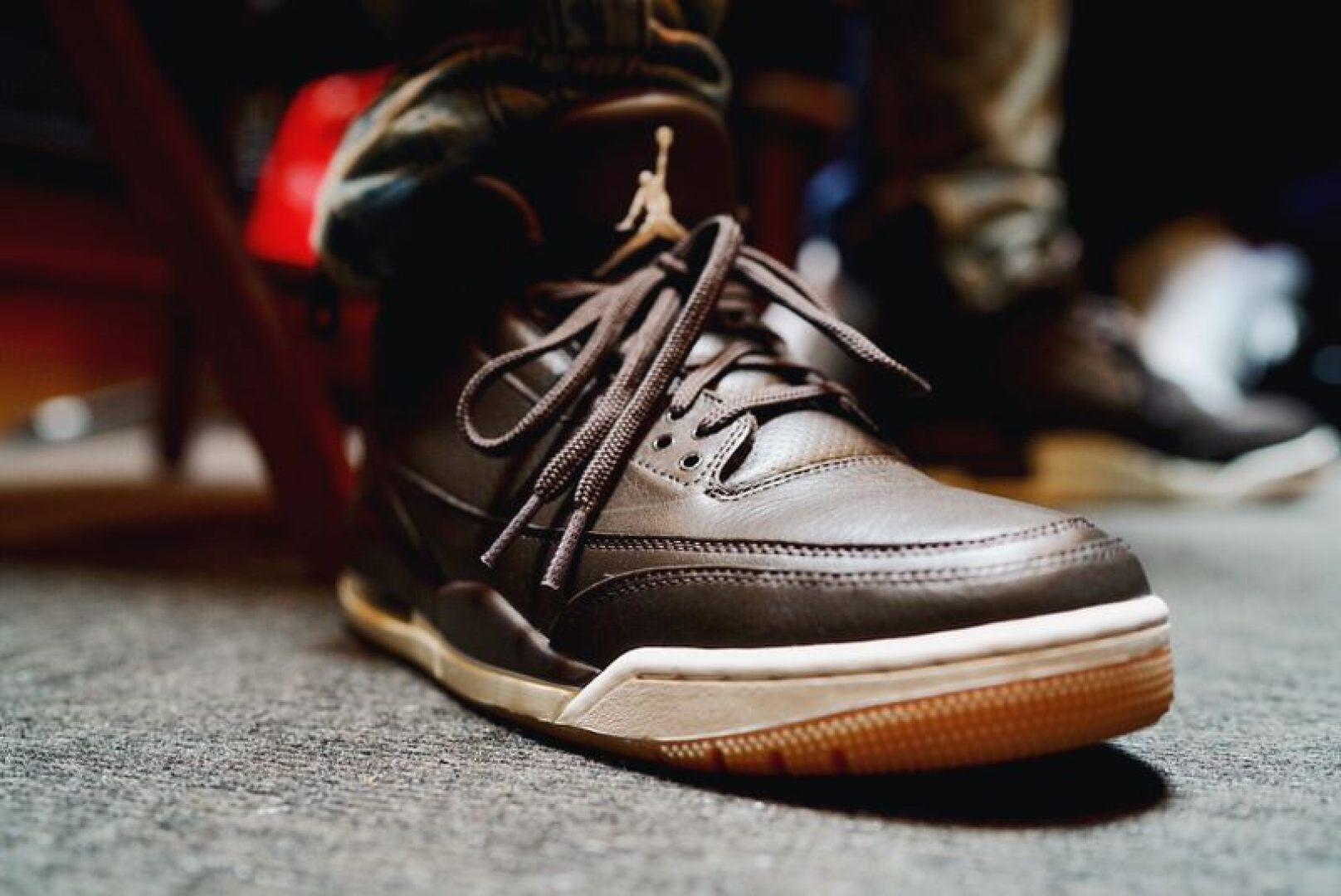 Air Jordan 3 Brown/Gum for Anthony Hamilton