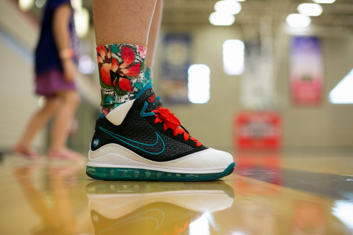 "Nike Air Max LeBron VII ""Red Carpet"""