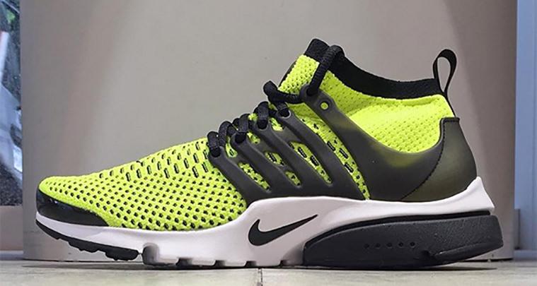 best sneakers 94cd1 8f368 discount nike air presto ultra flyknit volt black 0082f 2c8d0