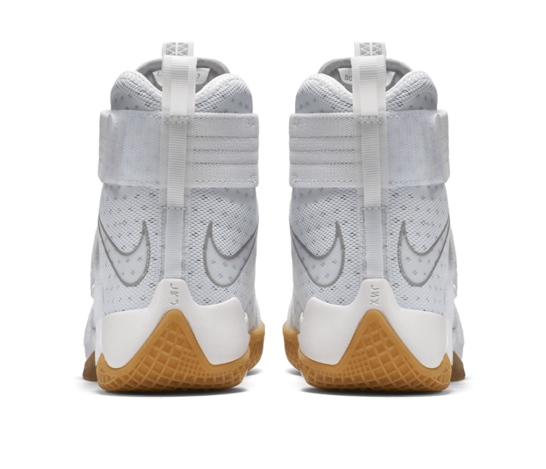 the latest 467b1 cb1ed ... Nike LeBron Soldier X White Gum