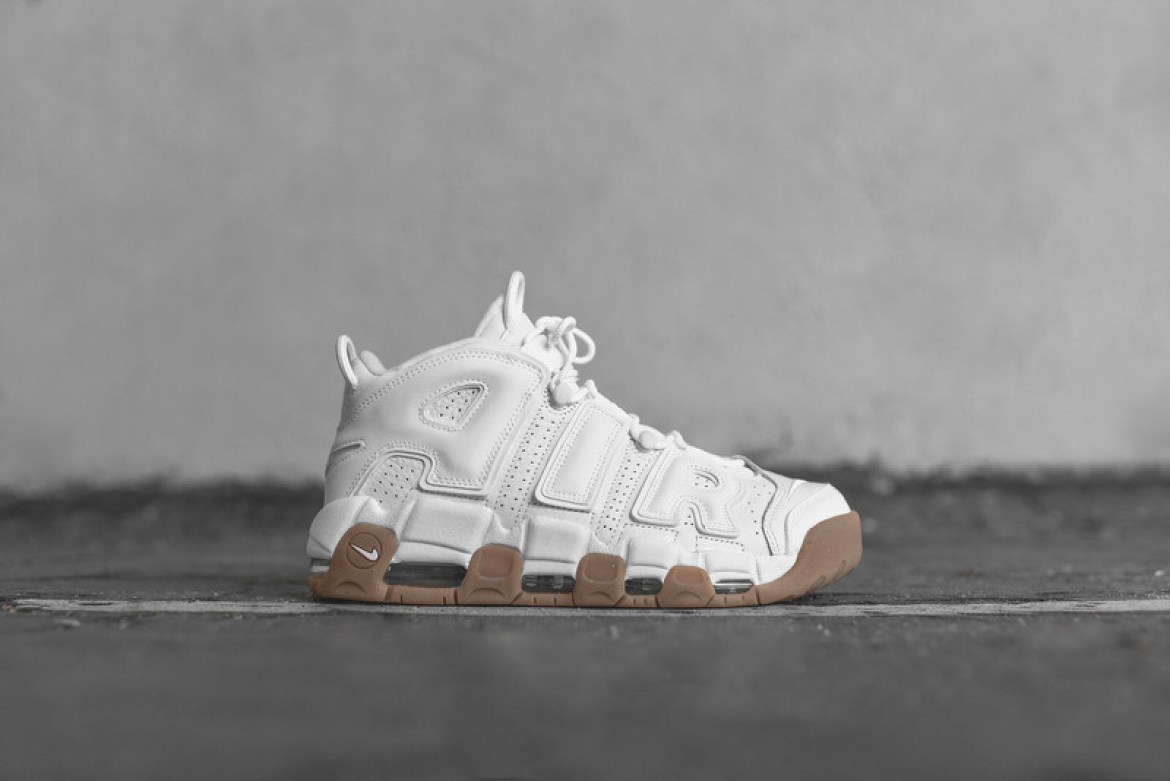 Nike Air More Uptempo White/Gum