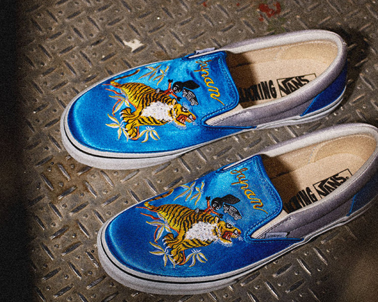 3452407fbd Rollicking x Vans Japan Slip-On Collection    Preview