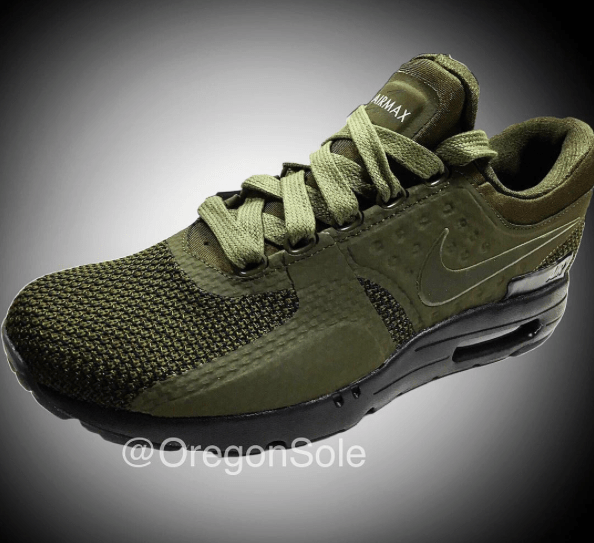 check out d0d5f 7c826 Nike Air Max Zero Olive